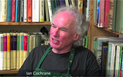 Ian Cochrane, partner in the Old Bank Bookshop
