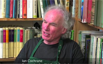 Ian Cochrane, partner in the Old Bank Bookshop
