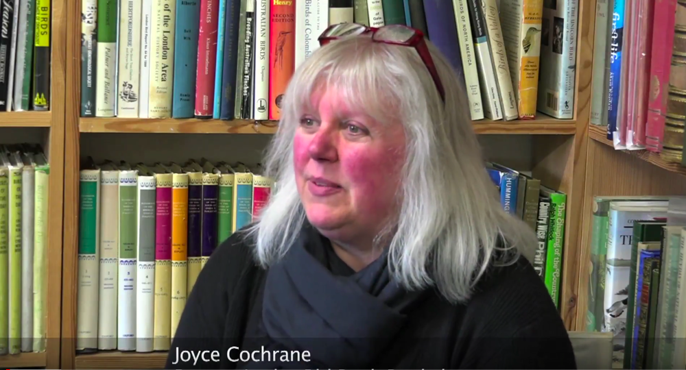 Joyce Cochrane, partner in the Old Bank Bookshop