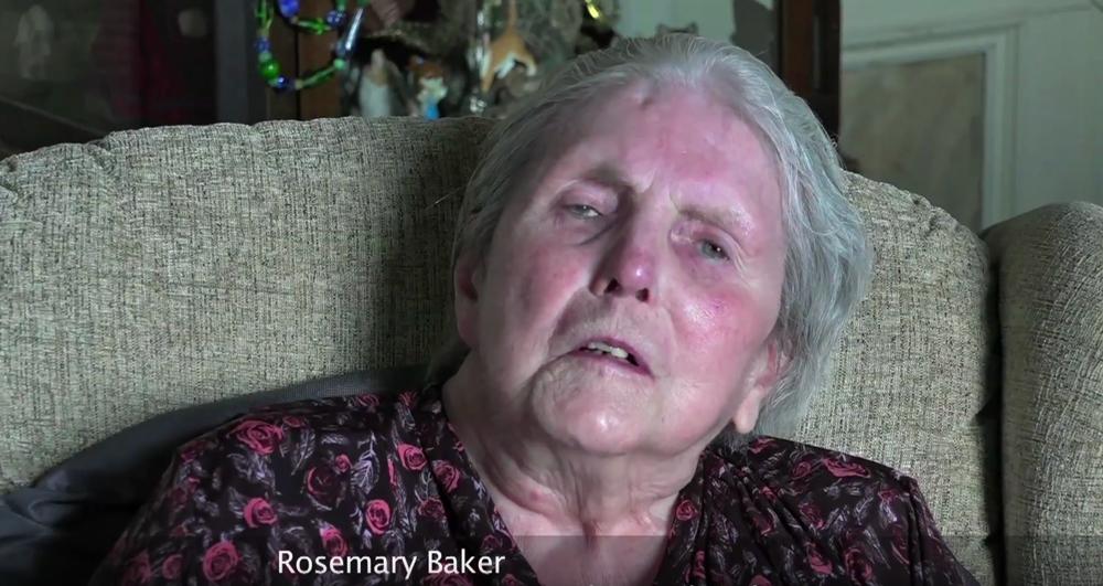 Rosemary Baker, partner in A.P. & R. Baker, Booksellers