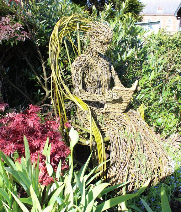 Wigtown's Willow Woman, Reading.